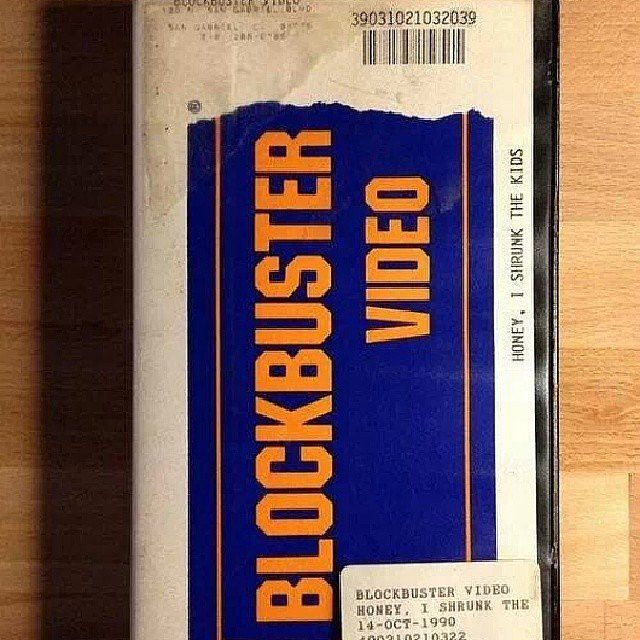 Blockbuster video. Who remembers these old relics? ;) They always messed up at the best part too...