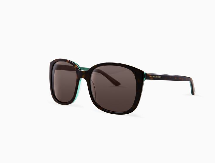Inspired by the vibrant architecture of Morocco, this frame is as adventurous as it is glamourous. The deep tortoiseshell tone enhances its emerald lining, giving the wearer a beautifully coloured frame that's subtle enough for any outfit. #ColletteDinnigan #specs #Specsavers shop here: http://collettedinnigan.specsavers.co.nz/#/Products/25667066
