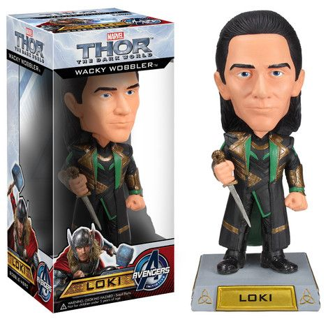 Wacky Wobbler: Thor: The Dark World MOVIE 2 - Loki