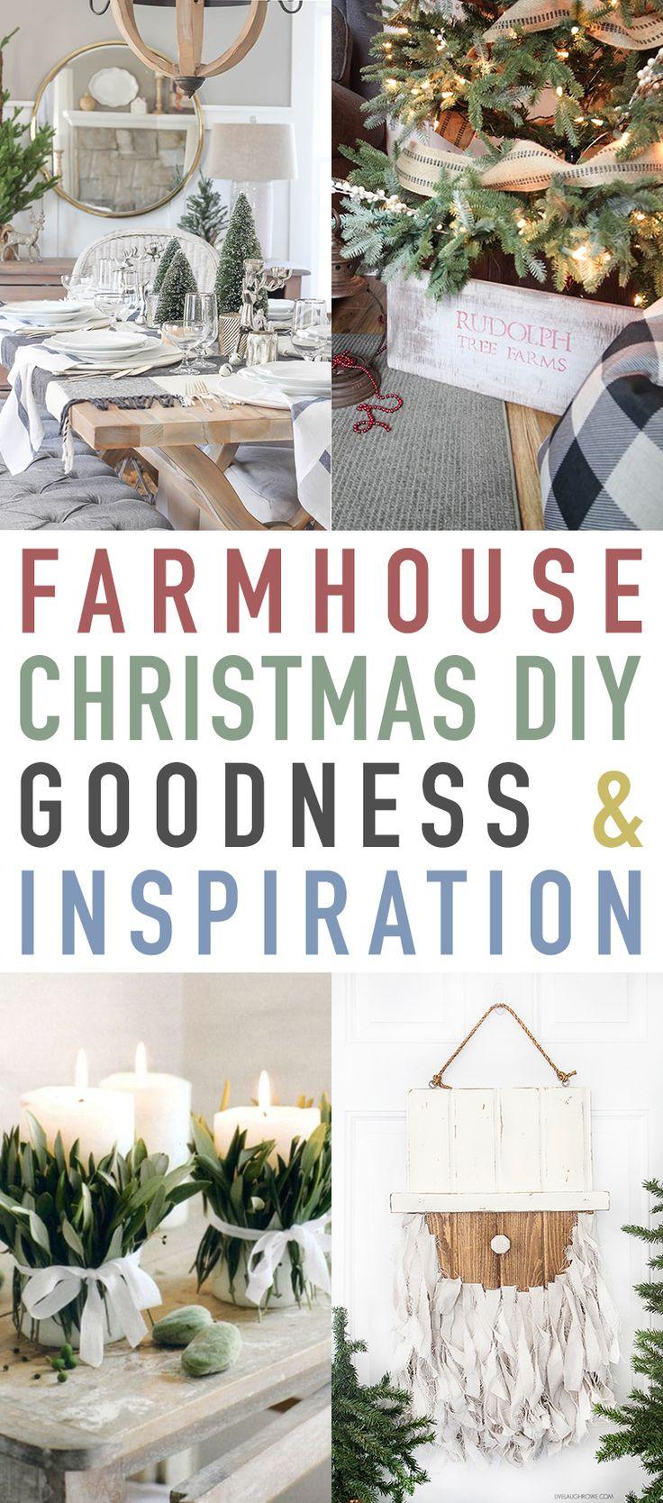 Farmhouse Christmas DIY Goodness and Inspiration