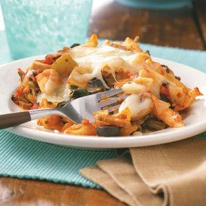 Spinach Chicken Casserole Recipe from Taste of Home -- shared by Jackie Wood of Jackson, Tennessee