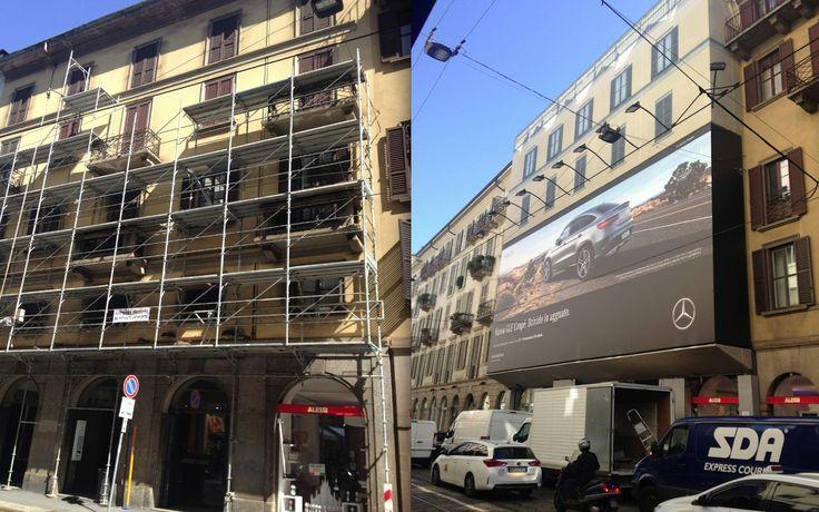 Historic palace in Milan - Italy.  Work by Fabio Carria architect -  Palazzo di Via Manzoni 16 a Milano