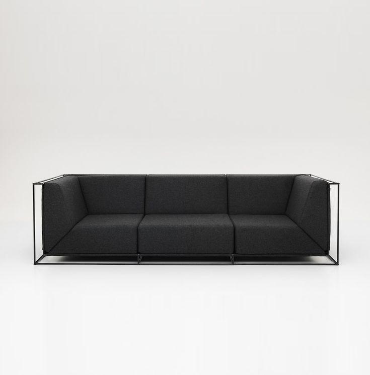 Sofa Floating marki Comforty. Znajdź więcej na: www.euforma.pl #sofa #comforty #design #polishdesign #livingroom
