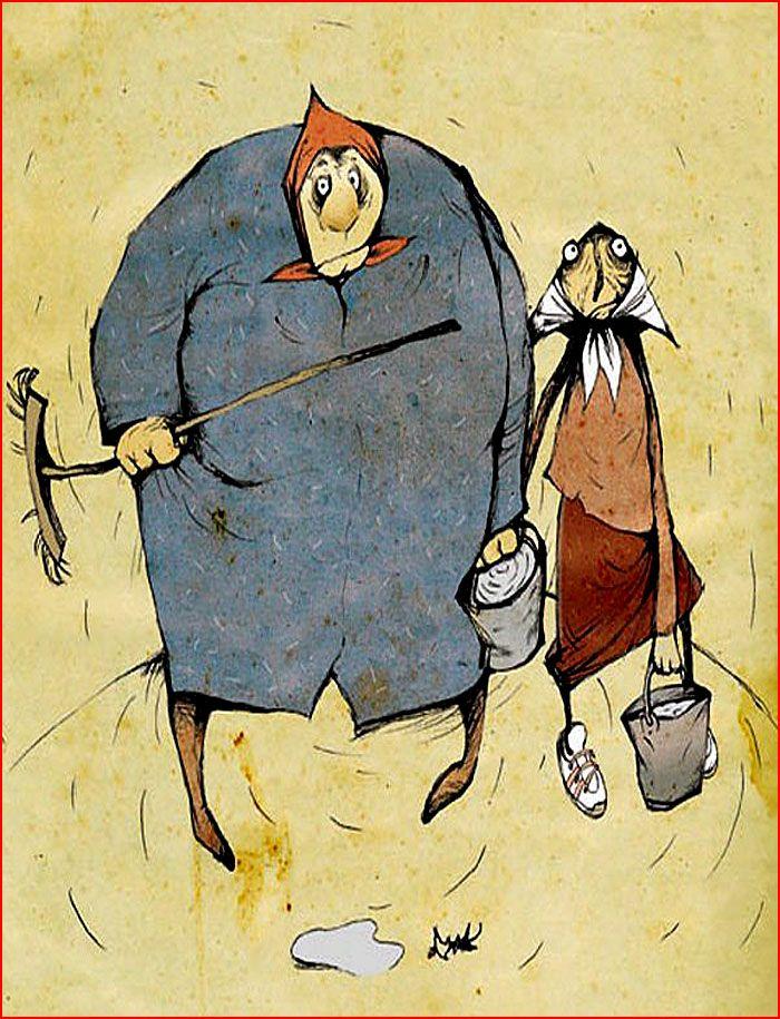 Картинки, смешное рисунки бабушек