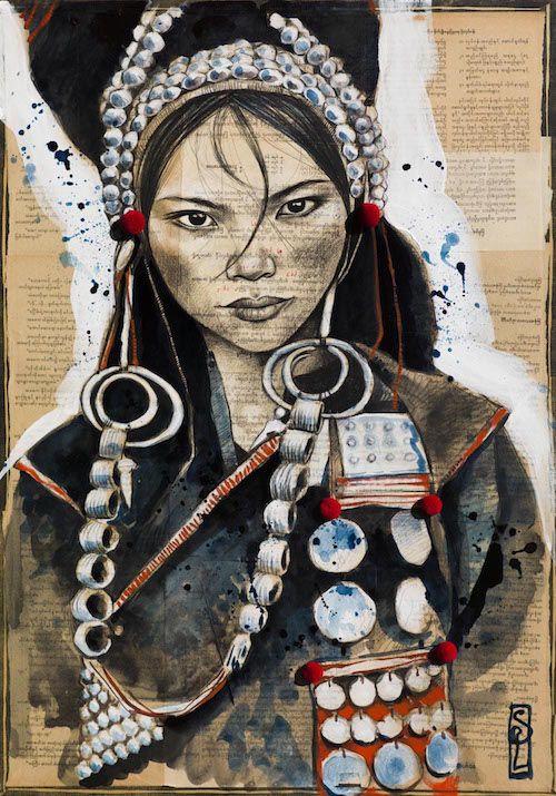 Parures Akha (Laos) - Stéphanie Ledoux