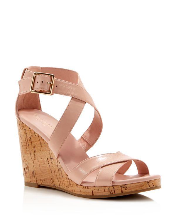 Cole Haan Jillian Open Toe Platform Wedge Sandals