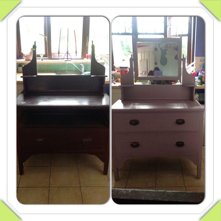 Old Edwardian dresser all reloved :) Annie sloan chalkpaint :)
