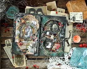 Altered book by Elena Martynova