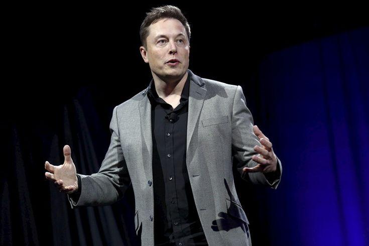 Tesla Motors CEO Elon Musk...