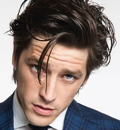 Medium Length For Men - hair in the face like this is kind of what I'm looking for