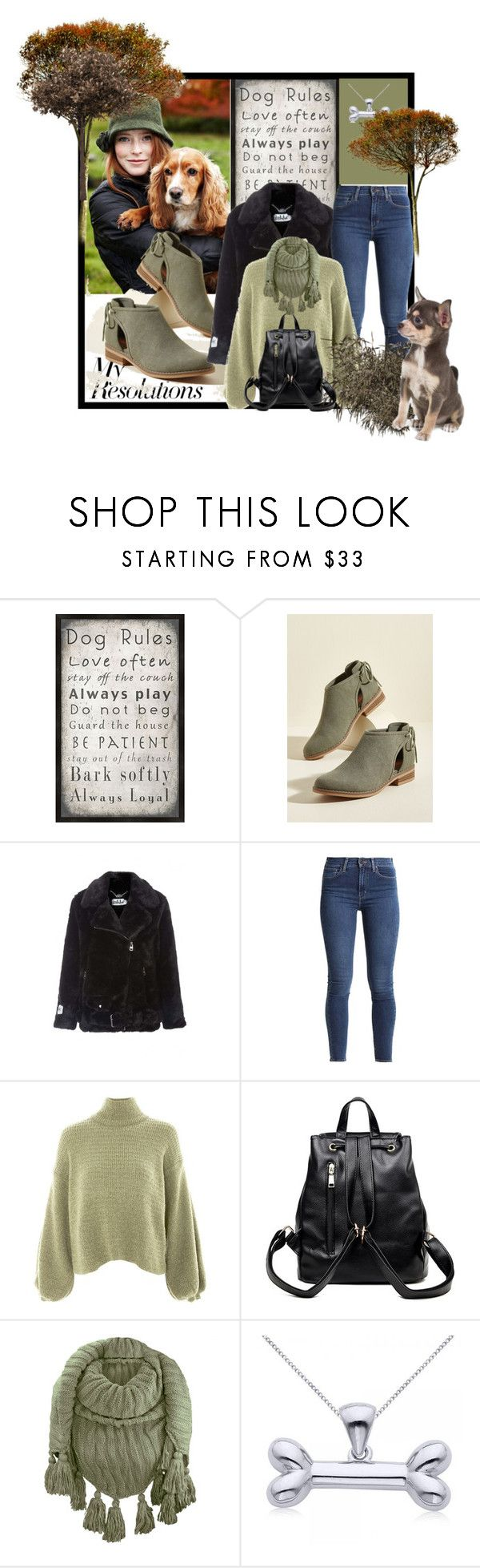 """""""#PolyPresents: New Year's Resolutions  Dog"""" by nanni33 ❤ liked on Polyvore featuring PTM Images, Rocket Dog, Jakke, Topshop, Allurez, contestentry and polyPresents"""