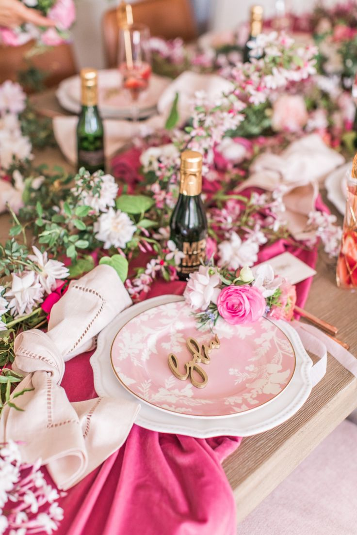 Roses And Rosé: Babes That Brunch Bridal Shower Ideas