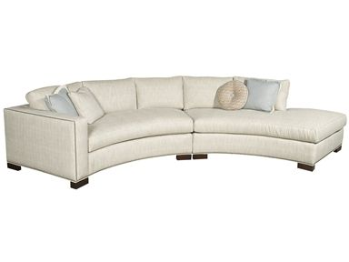 Shop for vanguard benett left arm j sectional w180 laj for Sofa with only one arm