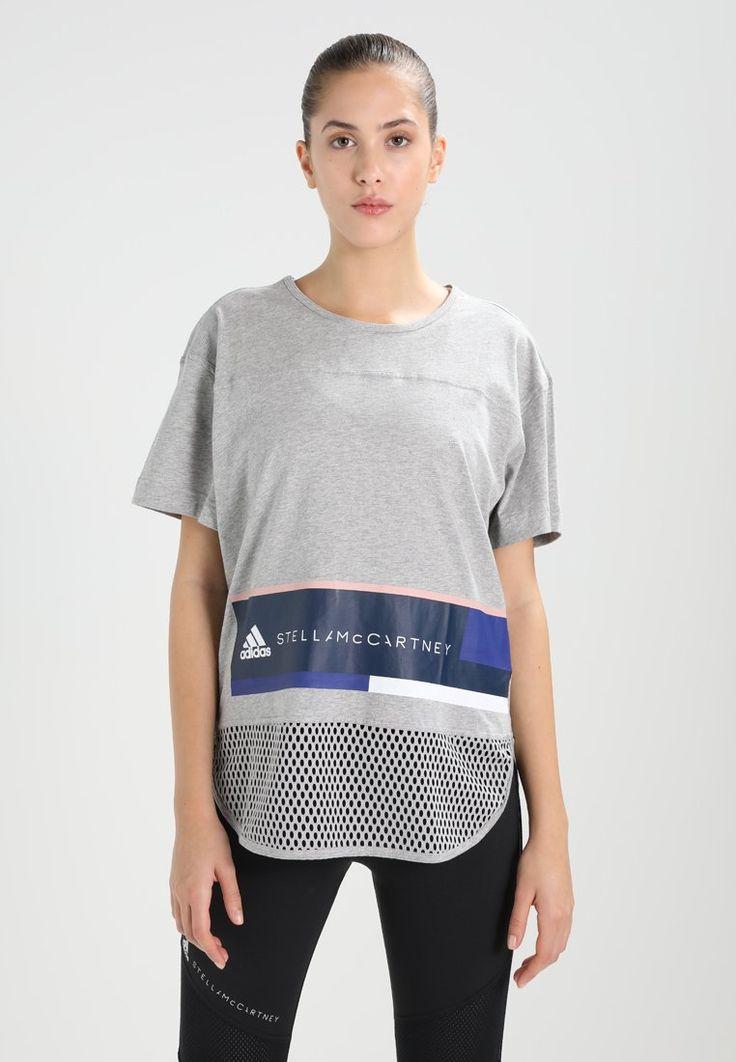 Pedir  adidas by Stella McCartney ESS LOGO - Camiseta print - mottled light grey por 54,95 € (10/03/18) en Zalando.es, con gastos de envío gratuitos.