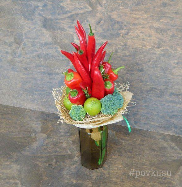 Букеты из овощей и фруктов Минск