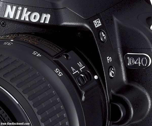 Nikon D40. Not the latest model in Nikon Cameras but I love taking pictures with mine!