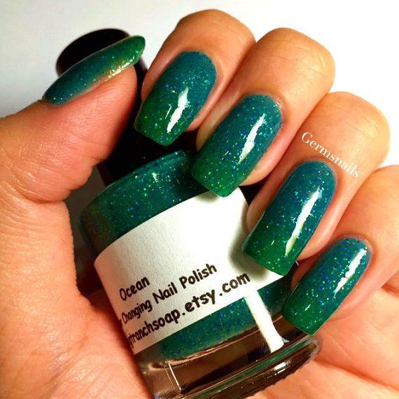 Color Changing Nail Polish Mood Nail Polish by BigTRanchSoap