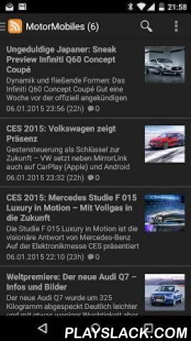 MOTORMOBILES  Android App - playslack.com ,  Mit der MOTORMOBILES-App jederzeit informiert. Alle gebündelten Kategorien schnell und interaktiv auf dem Smartphone und Tablett. Das kostenlose und reichweitenstarke Onlinemagazin MOTORMOBILES liefert täglich neue Auto-News, Tuning-Tipps, Zubehör-Tests und Fahrberichte. Mit der Android-App kann der Leser den kompletten Online-Content von MOTORMOBILES mobil und bequem abrufen. Über die app findet der Autointessierte aktuelle News und…