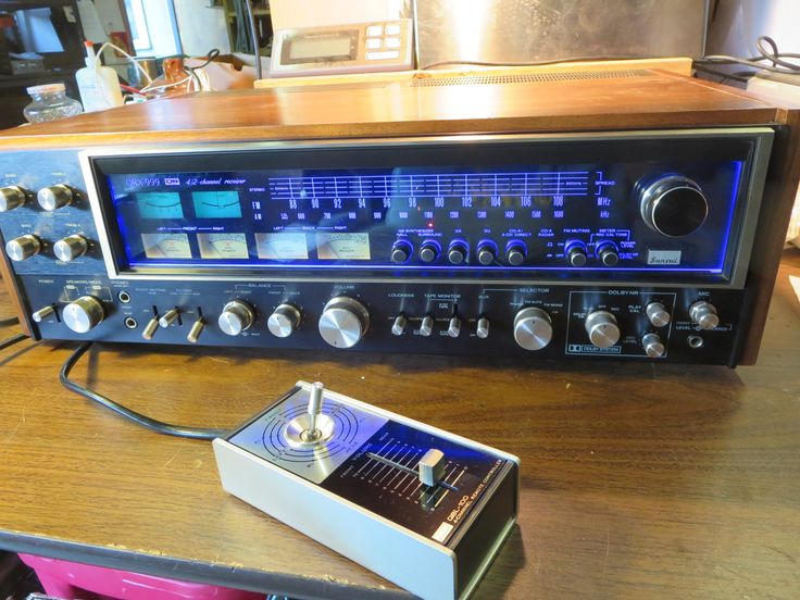 QRX999 in like new condition, with QBL100 remote control   $2925 – SOLD