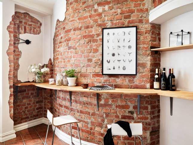 M s de 20 ideas incre bles sobre paredes de ladrillo - Ladrillos decorativos para exteriores ...