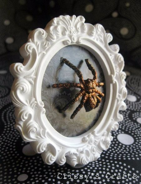 you can buy a lot of freeze dried tarantulas online and this looks like an awesome way to display one gothabe diy crafts pinterest halloween