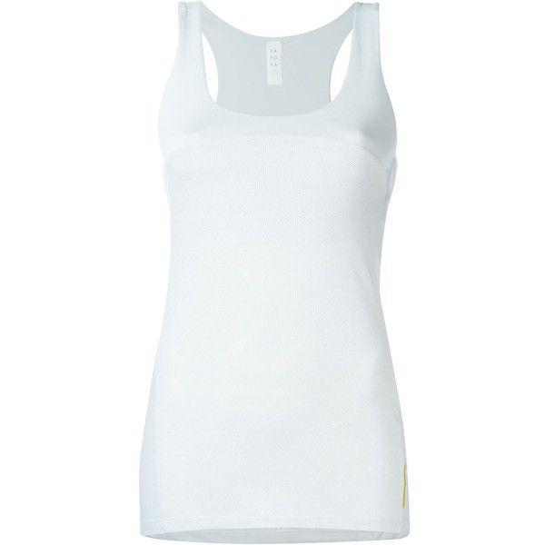 Sàpopa bra insert tank top ($77) ❤ liked on Polyvore featuring intimates, bras, grey, gray bra and grey bra