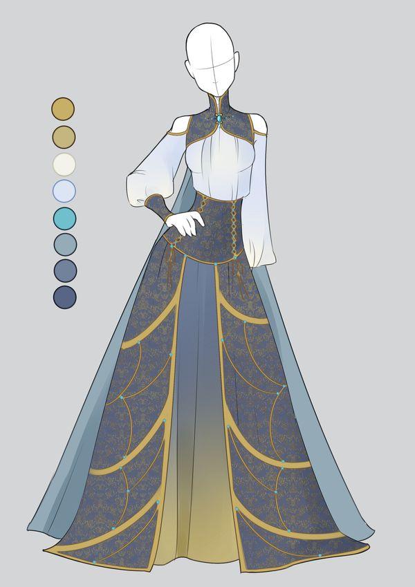:: Commission December 03: Outfit :: by VioletKy.deviantart.com on @DeviantArt