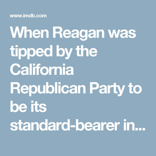 When Reagan was tipped by the California Republican Party to be its standard-bearer in the 1965 gubernatorial election against Democratic Governor Pat Brown, Lew Wasserman went back in action. Politics makes strange bedfellows, and though Wasserman was a liberal Democrat, having an old friend like Reagan who had shown his loyalty as S.A.G. president in the state house was good for business. Wasserman and his partner, M.C.A. Chairman Jules Styne (a Republican), helped ensure that Reagan…