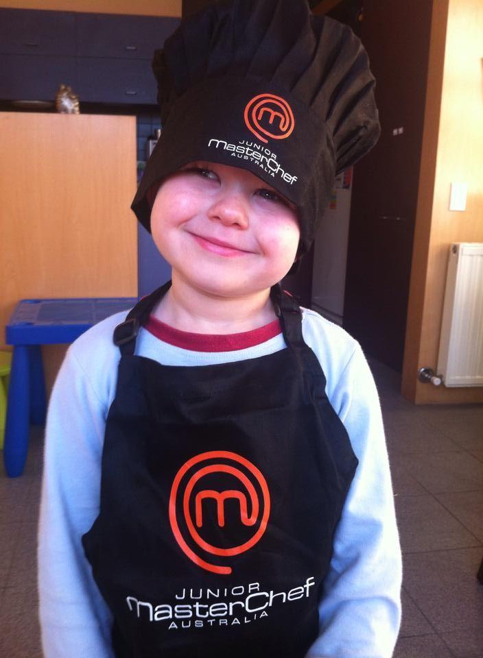 Our little Masterchef