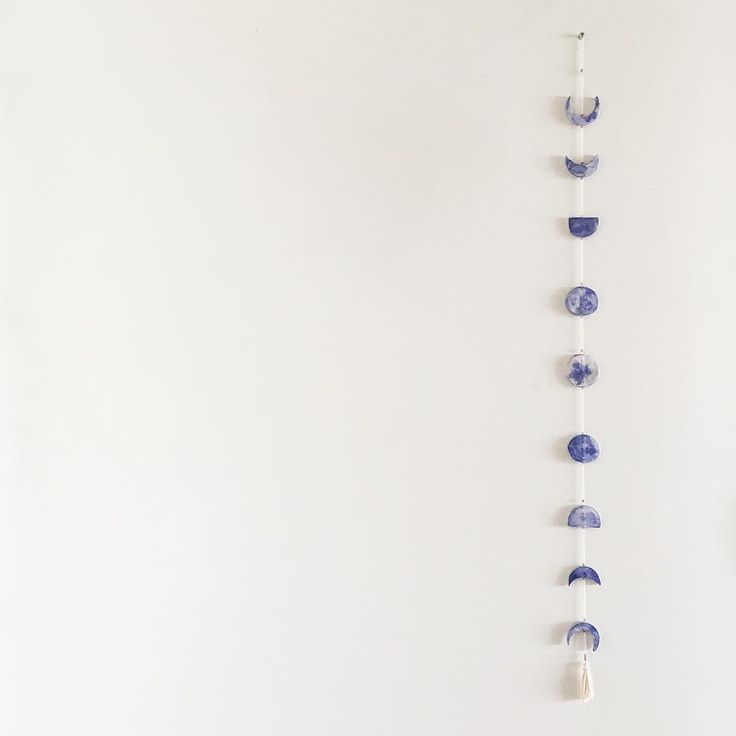 Moon Cycle Hanging / Ceramic