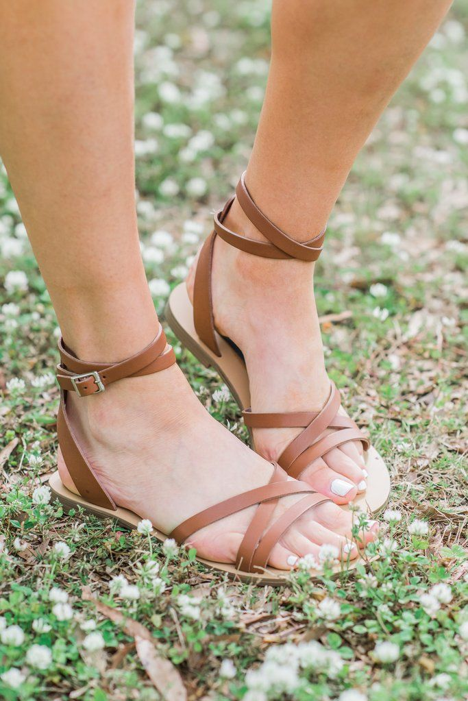 f77e808fec1 Steven By Steve Madden: The Mata Sandals, Cognac - Steven By Steve ...