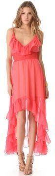 Tbags los angeles Hi Lo Ruffle Dress on shopstyle.com
