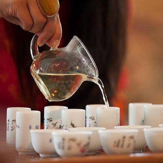 Join @May King Tsang every Sunday at 1 or 2pm for the gongfu Chinese #tea ceremony at the #CaiGuoQiang Tea Pavilion - Ticketed via @QAGOMA