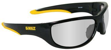 DeWalt Dominator Safety Glasses with Black Frame and Indoor/Outdoor Lens