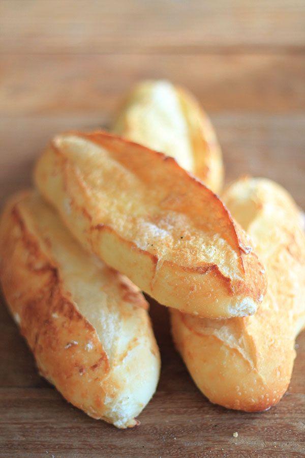 Comida de rua: pão semi-italiano | cozinha pequena