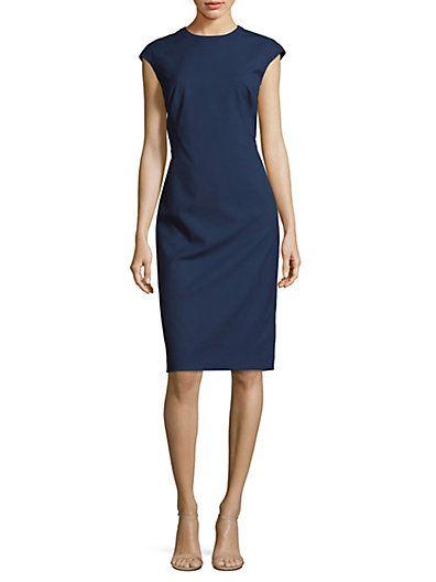 6e663223b54dfe Solid Talon Dress by Lafayette 148 New York