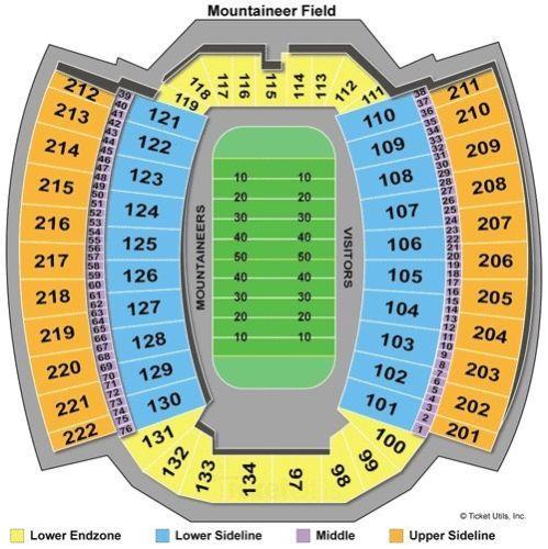 #tickets WVU vs Iowa State football tickets (total of 4)11/04/2017 please retweet