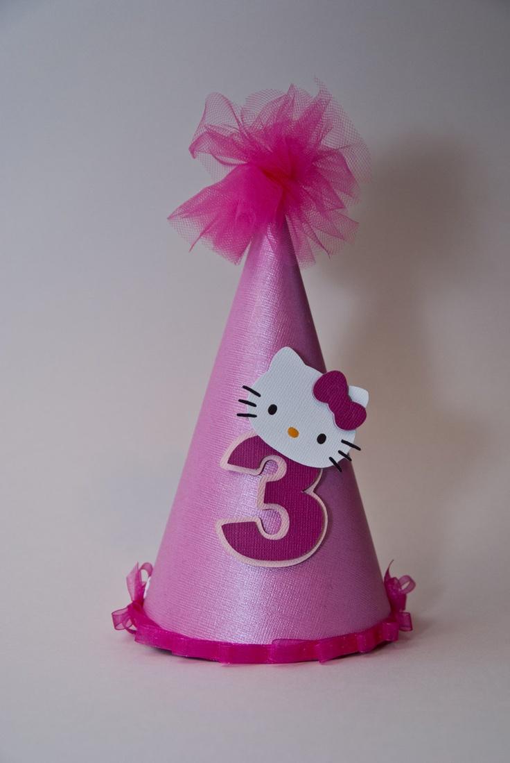 Hello Kitty Party Hat. $15.00, via Etsy.