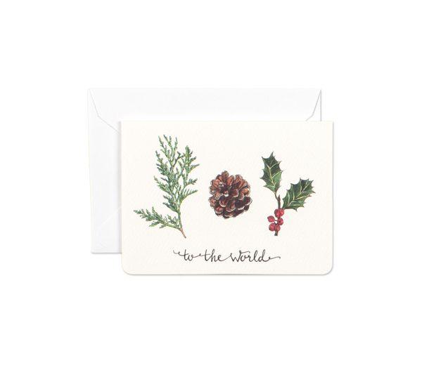 Nature's Joy Mini Card by Gotamago