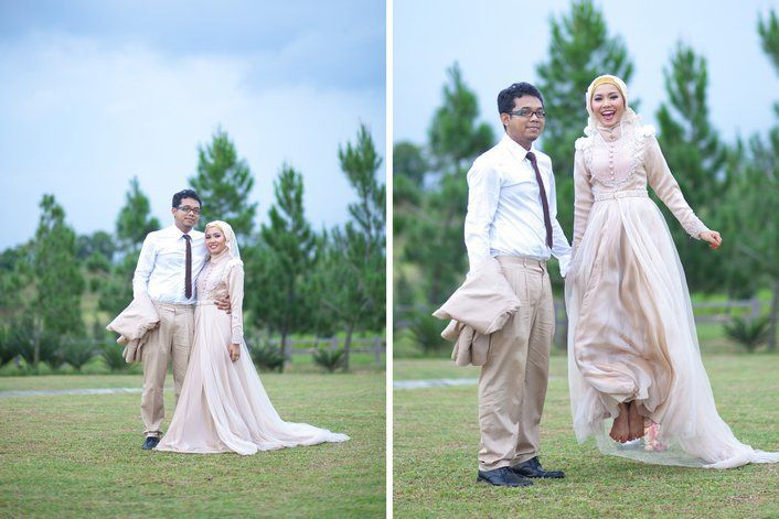 Pin by machda assalihee on l husband wife l pinterest for Wedding dress malaysia online