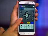 Use your Galaxy S4 as a universal remote Samsung's WatchOn app and the S4's IR blaster give you control over your TV, set-top box, and more. Plus, the app's programming guide puts all of your favorite shows at your fingertips.