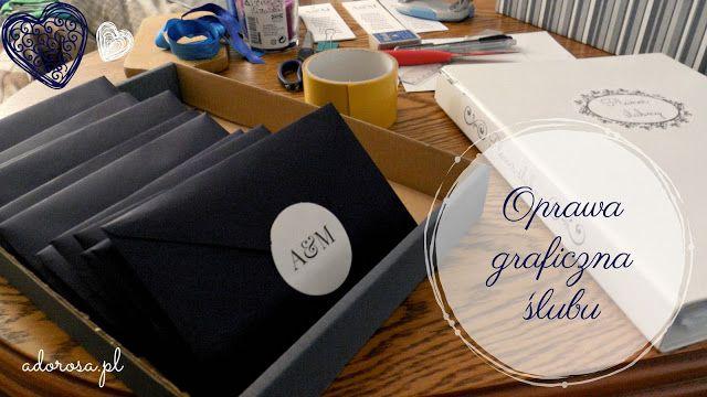 Adorosa - Get inspired: DIY: Oprawa graficzna ślubu