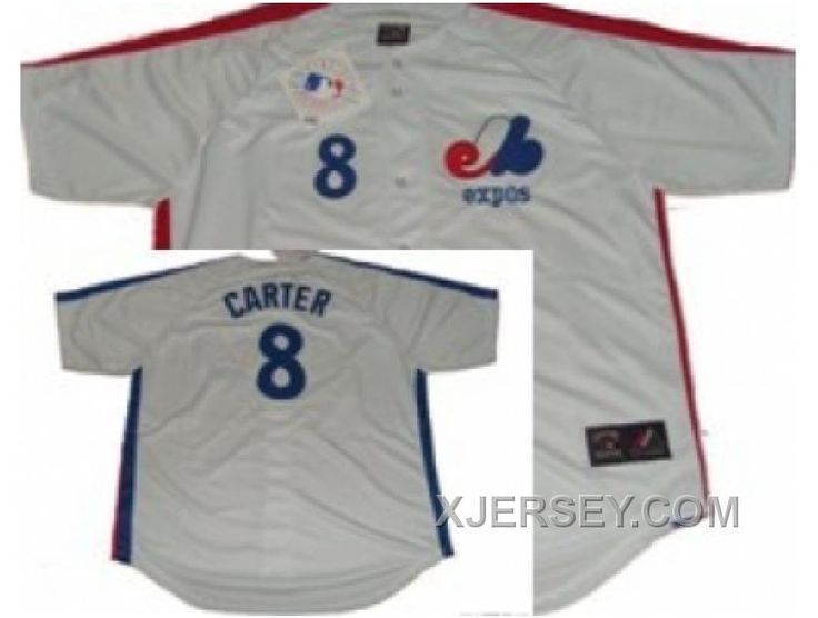 http://www.xjersey.com/mlb-montreal-expos-8-carter-white-throwback-jersey-for-sale.html MLB MONTREAL EXPOS #8 CARTER WHITE THROWBACK JERSEY FOR SALE Only $34.00 , Free Shipping!