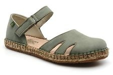 New Women's El Naturalista Campos Ella No543 Sandals In Green
