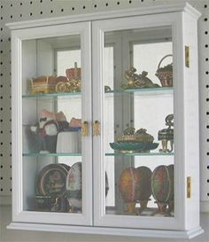 You don't have to give up on your collectibles if you live or move in a tiny place. Top 3 Wall mount Display Cabinets