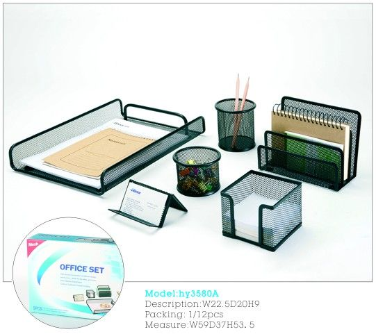 Metal Executive Desk Sets Desk Stationary