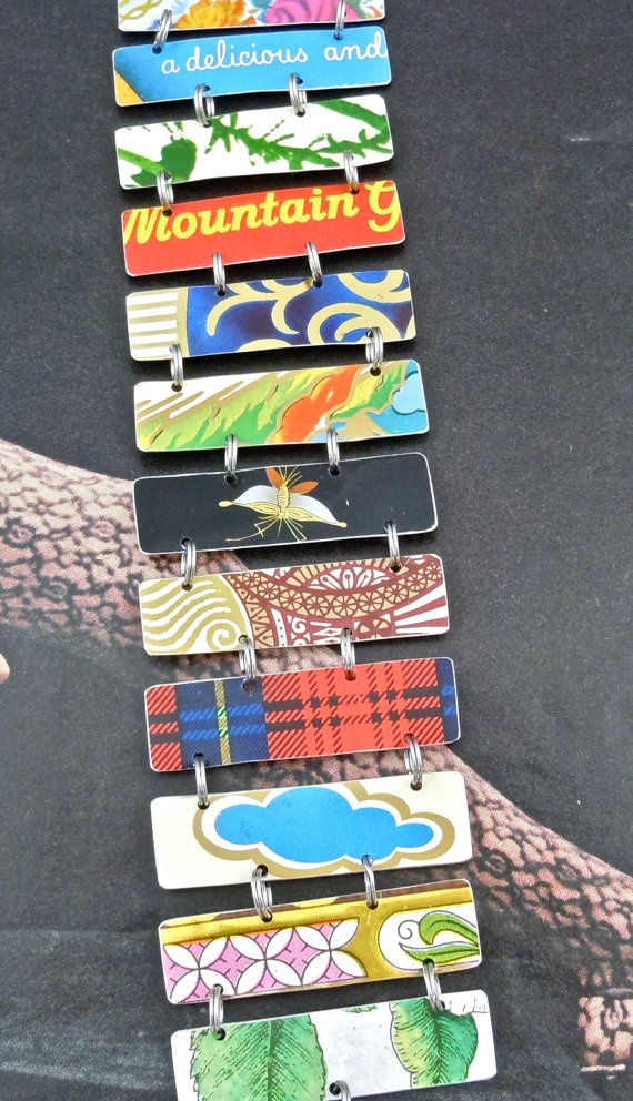 17 best images about jewelry recycled tin jewelry on for Can you recycle cookie tins