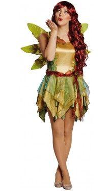 Blätterfee Waldelfin Kostüm 1