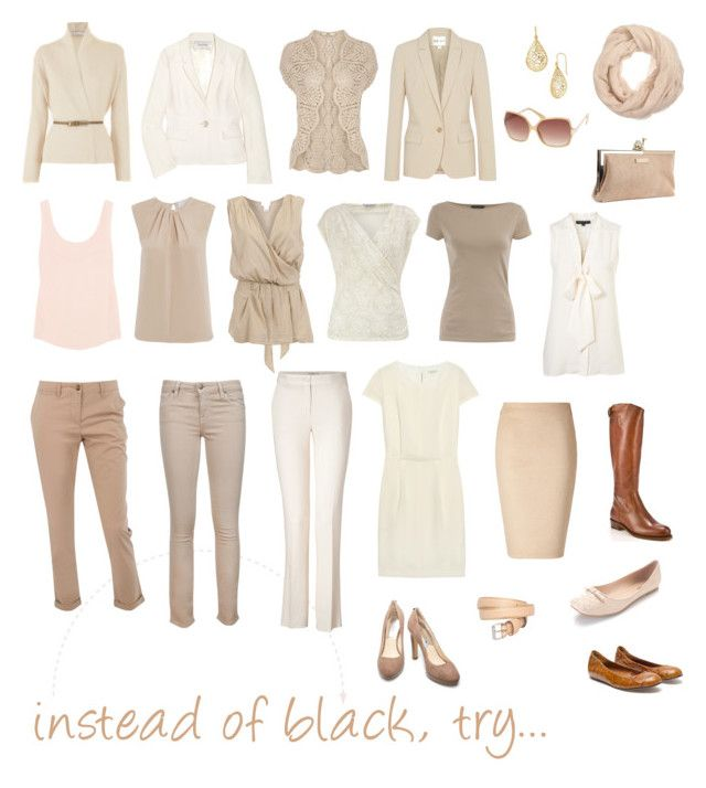 """""""instead of black, try..."""" by pinz824 ❤ liked on Polyvore featuring mode, Dorothy Perkins, Vince, FABIANA FILIPPI, 3.1 Phillip Lim, KATHARINE HAMNETT, Oasis, Lanvin, Frye et Kate Spade"""