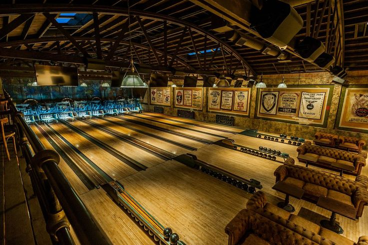 A Bowling Alley In Highland Park In California Has Been Renovated To Its Prohibition Era Roots Highland Park Bowl Highland Park Home Bowling Alley
